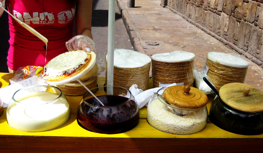 Colombian desserts