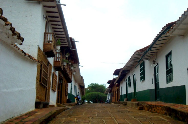 Places to visit in Santander Colombia